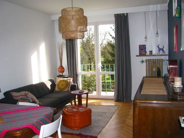 Awesome, cozy and quiet flat of a globe trotter! - Poznań - Apartment
