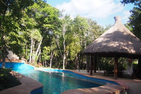 Beautiful Villa in the middle of the Jungle - Chemuyil - Villa