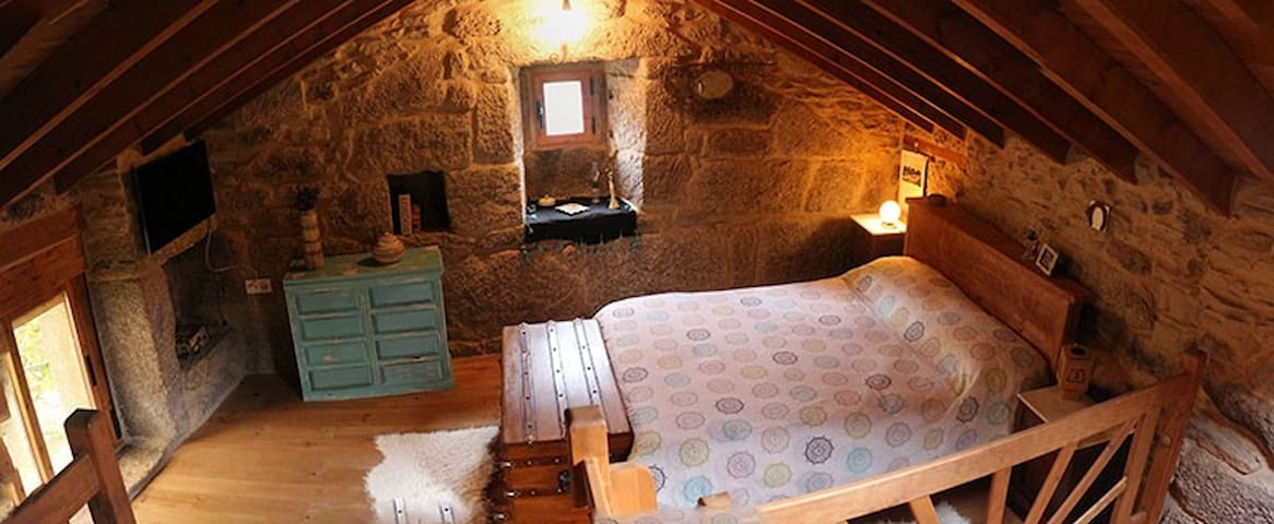 Casa/bodega tipo loft - Melón - Vindsvåning