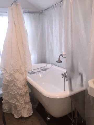 Old farm house third floor space. Shared bath.