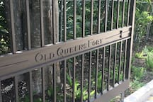 Old Queens Fort Entrance