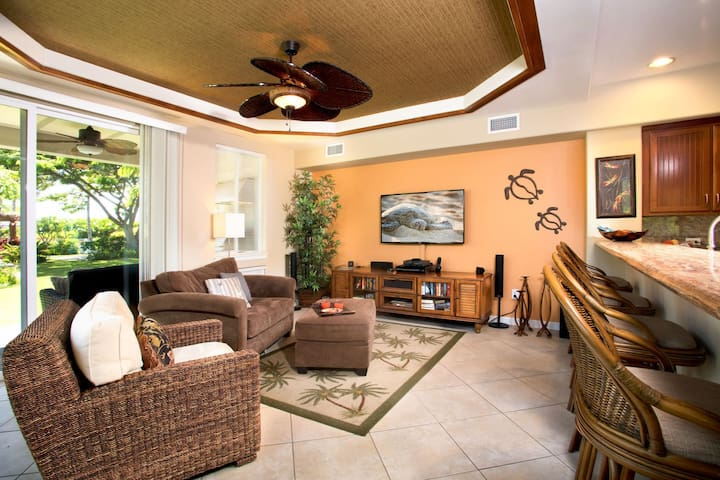 Kamaaina Welcome! Local Rates Posted. Waikoloa Beach Villa B-1; Beautiful Private Two Story Villa