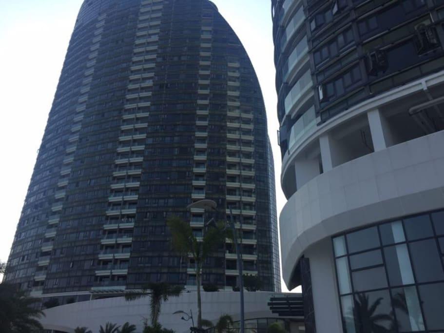 鸿洲天玺三亚最高档公寓