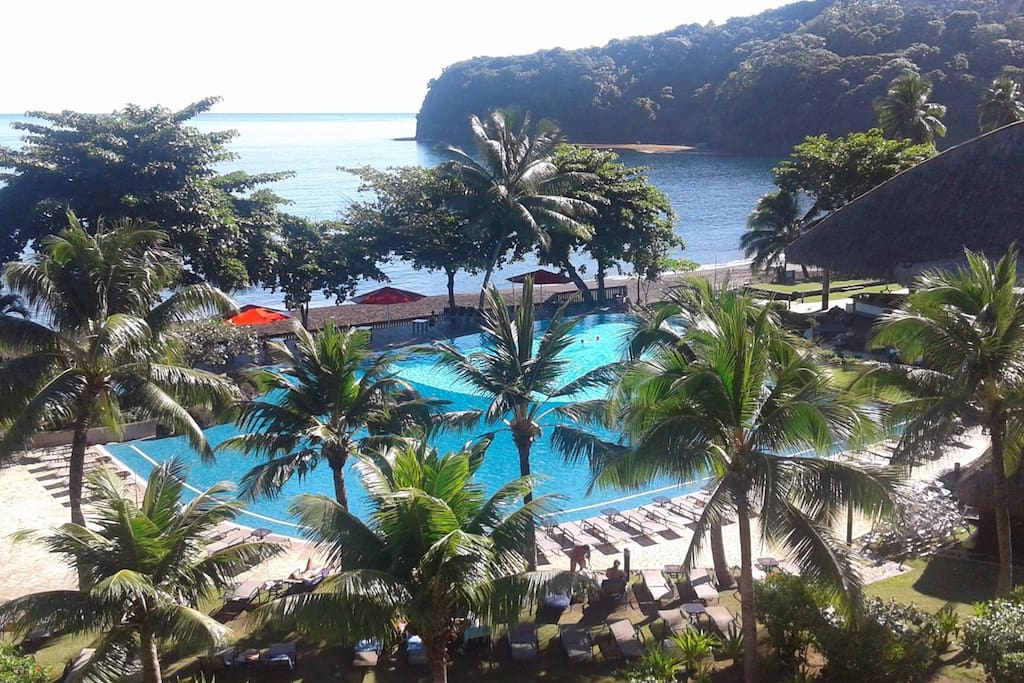 Tahiti t2 duplex dernier tage appartements en r sidence for Chambre 13 tahiti plage mp3