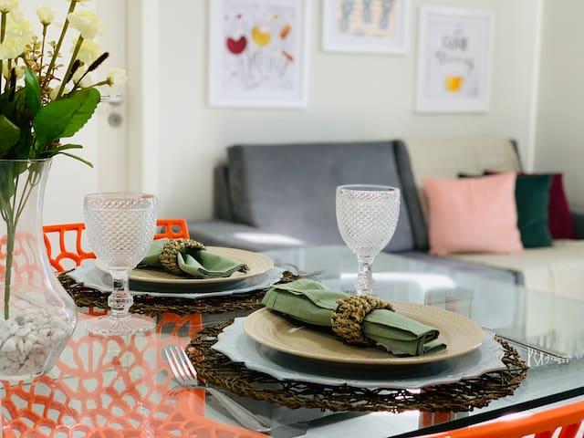 Sala de estar / jantar.