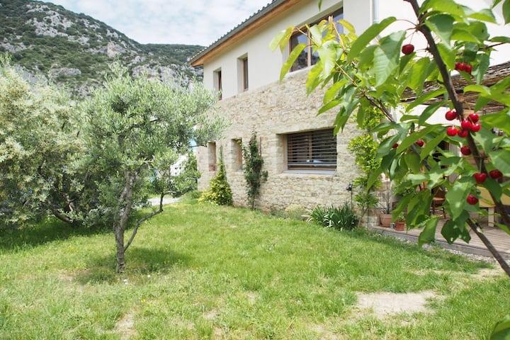 Maison bioclimatique en Haute Provence