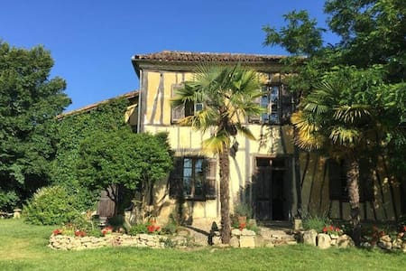 Le Bernussan, Traditional Colombage House - Room 2 - Gers - Bed & Breakfast