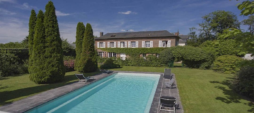 LE COLOMBIER : PISCINE PRIVEE CHAUFFEE