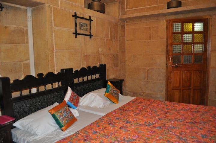 Jaisalmer Sand Stone Room -Deluxe Room