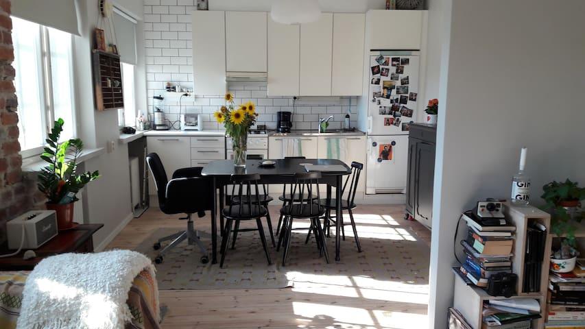 1 room + kitchen with a beautiful view - Helsinki - Huoneisto