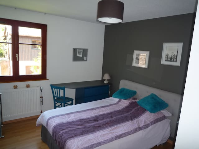 Chambre 1 Alsace - Hunawihr - Daire