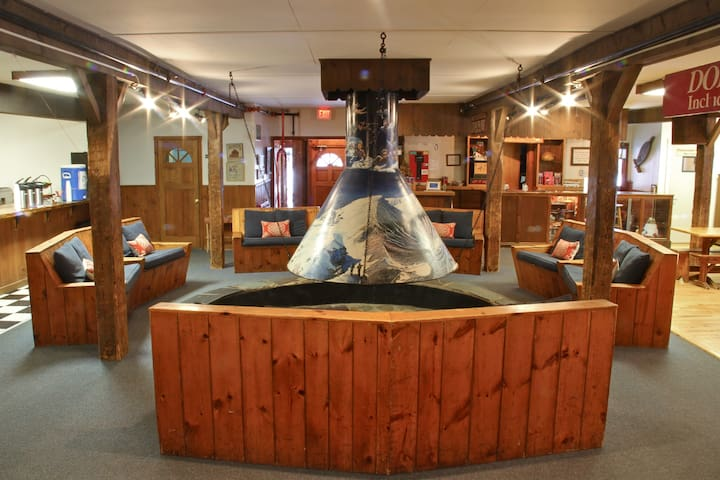 The Round Hearth at Stowe - Switchback