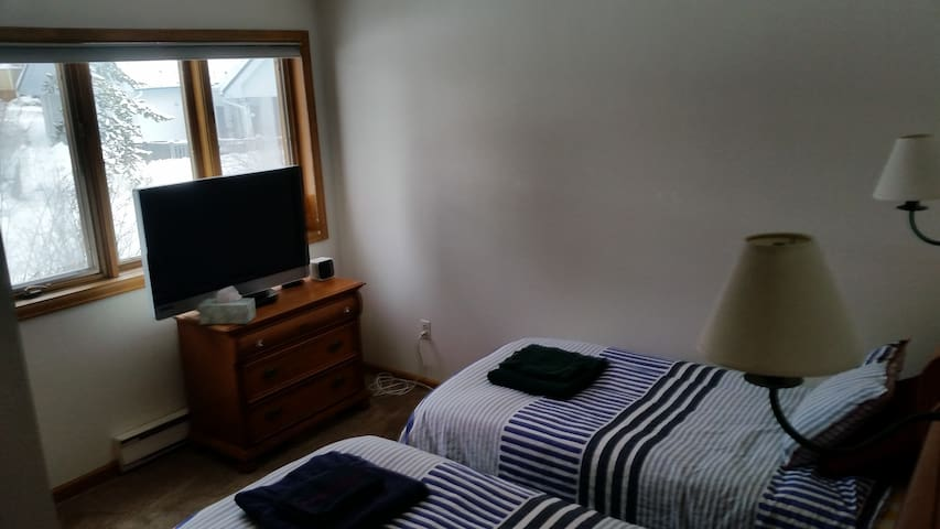 2 Twin Beds in Large East Vail Condo - Vail - Casa