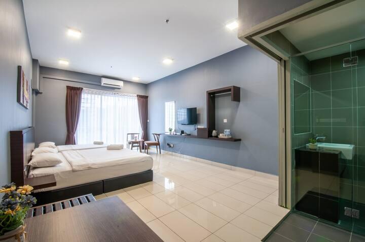Majestic Suites Studio K1-08-3A @  AEROPOD K.K.