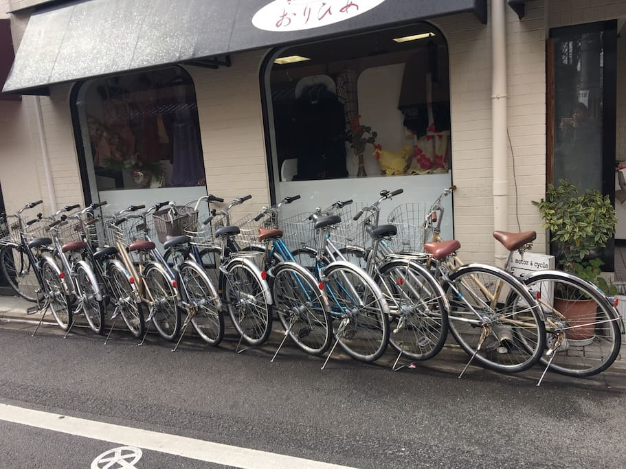 6 Bicycle for free!