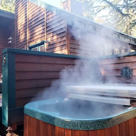 Our Mountain Home~ Hot Tub, BBQ, White Pass
