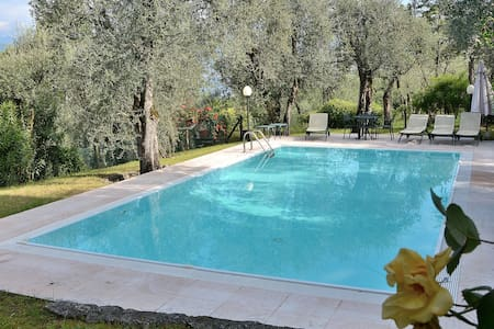 Villa Lake View With Pool Garden And Tennis Court - Torri del Benàco