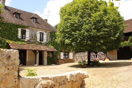 Luxury Farmhouse sleeps 12 with Private Pool - Tourtoirac - Talo
