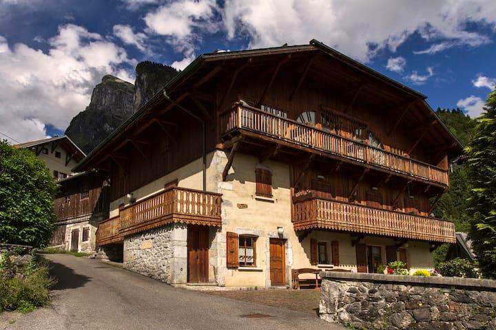 appartement de charme à proximité du village