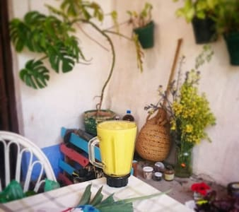 Country house with organic garden - Coín - Bed & Breakfast