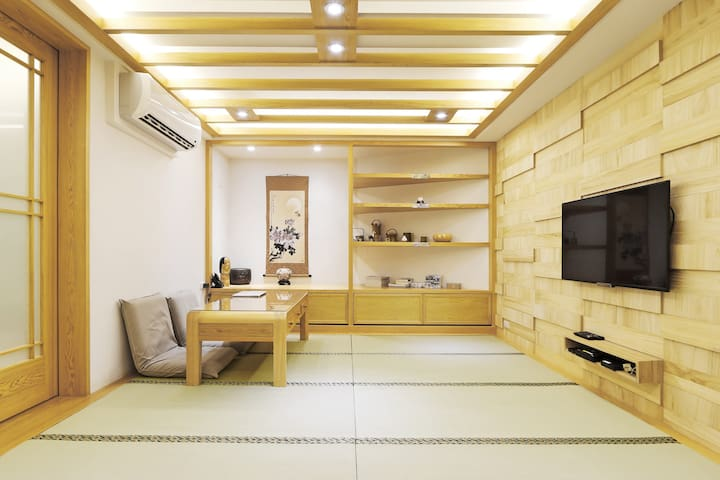 Beitou Tatami Style Suite 3 mins walk from MRT - Beitou District - Apartment