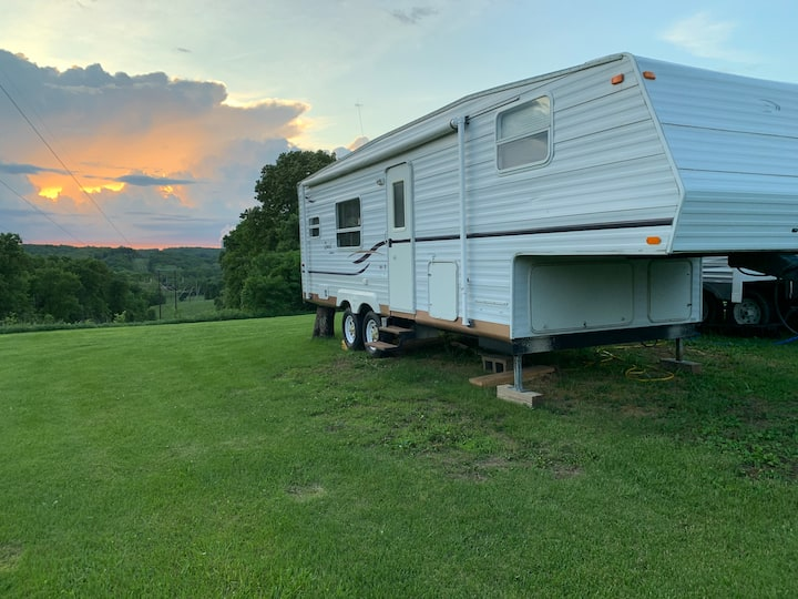 RV Camping in Missouri country