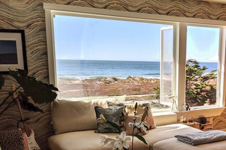 Ocean VIEW, sun-drenched, and designer home in SF