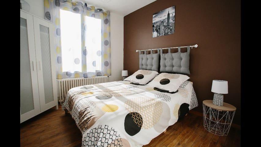 Charmante maison lumineuse et confortable