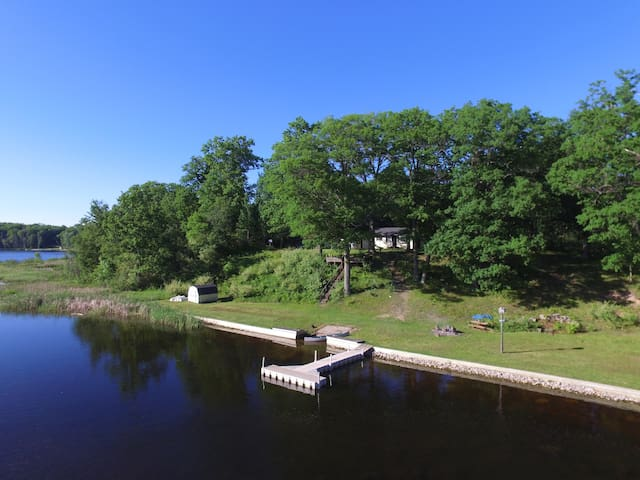 Private Lake Haven on 8-acres