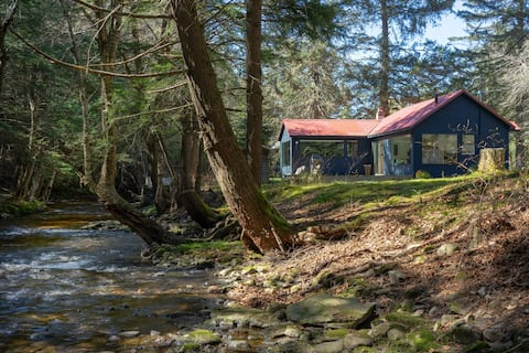 Cabin 14 Creekside in Willowemoc