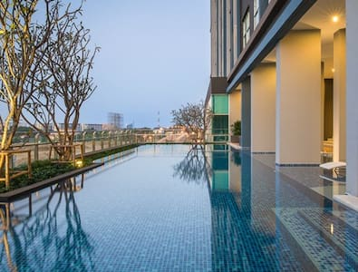 24th floor with Great View +wifi - Hua Hin - Condominium