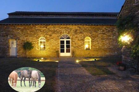 Chambre duplex dans une propriété equestre