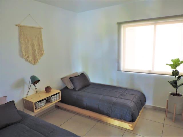 recamara (2) con dos camas individuaes