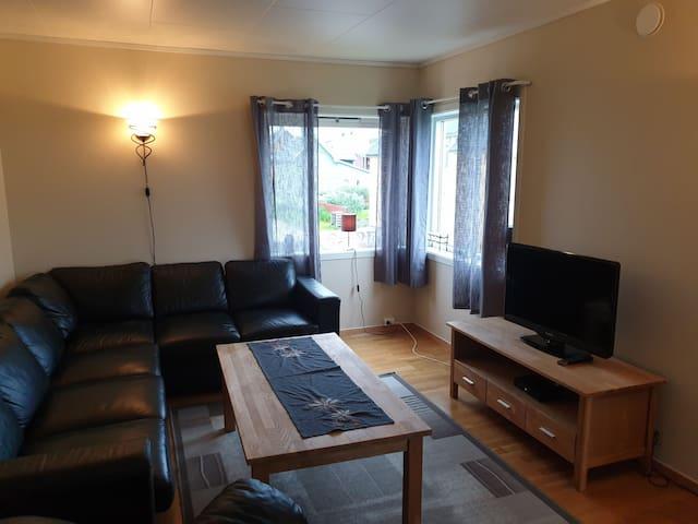 Stor koselig leilighet i rolige omgivelset