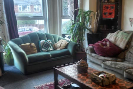Nice 2 bed flat in central Chorlton - Manchester - Apartament