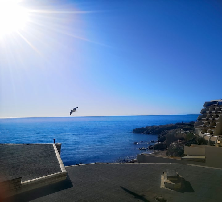 Studio cabine à Sète front de mer à la corniche
