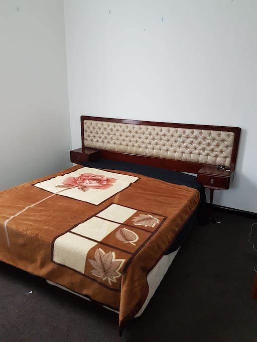 Bedroom 1, King Size Bed with H/B & Side drawers