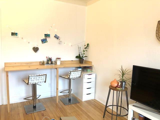 Paisible appartement à Laurier