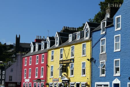 """Waterfront Snug"" - entire flat in Tobermory, Mull - Tobermory - Apartamento"
