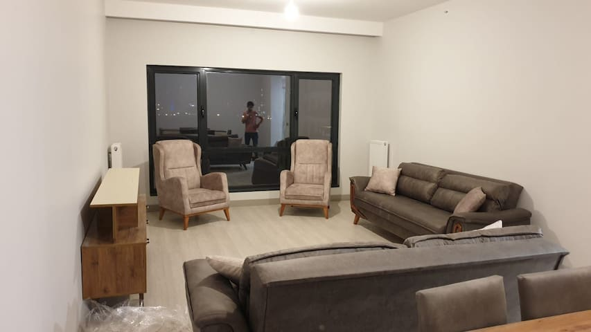 3 Bedroom Apt.19th floor near new Istanbul airport