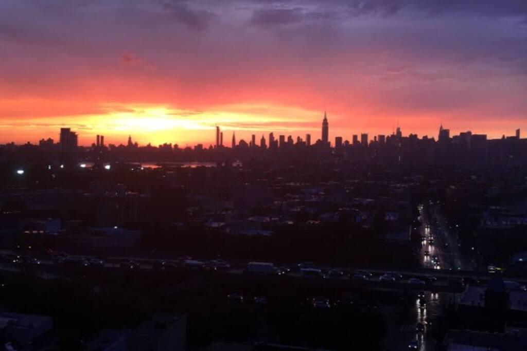 Best NYC Skyline View in BK.