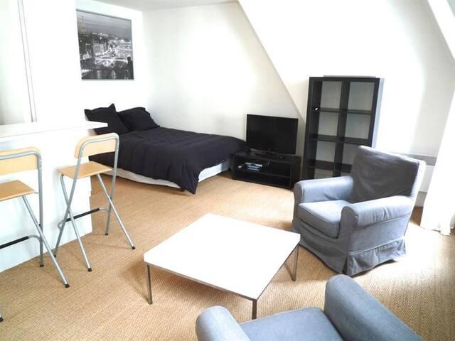 Grand studio de 32m2 proche Quartier Saint Michel - Paris - Apartemen