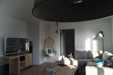 Sunny top apartment in Amsterdam