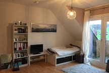 Cozy studio in Recklinghausen (downtown area)