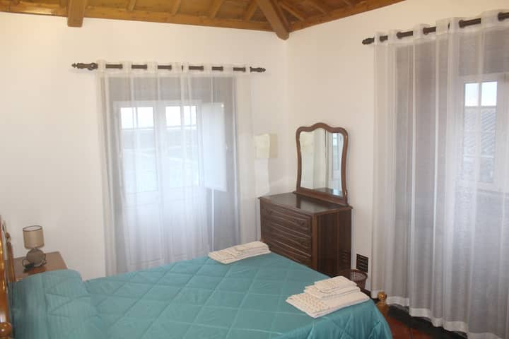House with 2 bedrooms in Açores, with wonderful sea view, balcony and WiFi
