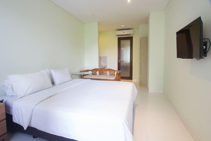 Superior Room in Petitenget close to Beach