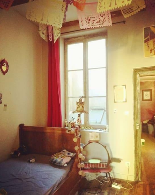la chambre à coucher du premier étage