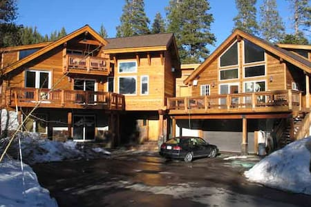 SquawGraLa - Executive Lodge 25 guests  pets extra - Olympic Valley - Villa