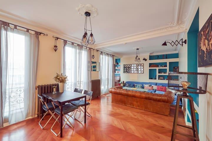 Beau 2 chambres près de Montmartre