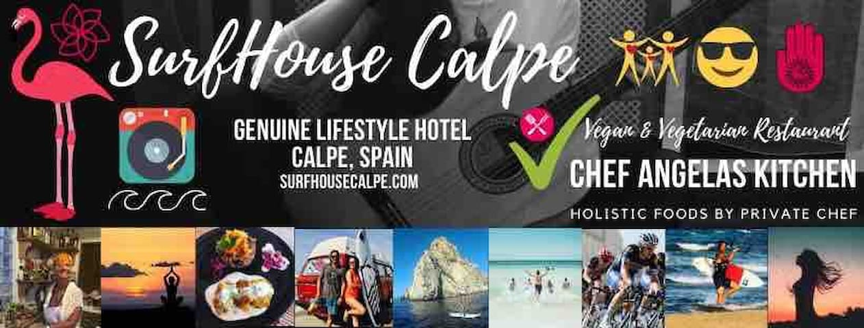 The Green Valley Room @SurfHouse Calpe